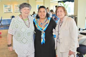 Marilyn Rickmeyer, Deborah Berryman, Gretchen Mass