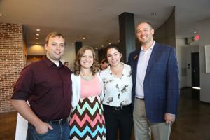 Nathan and Sarah Zierer, Christine Ostrowski, Chris Caskey-Dougherty