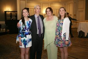 Leigh and Joel Dennis, Honoree Betsy Dennis, Beca Dennis