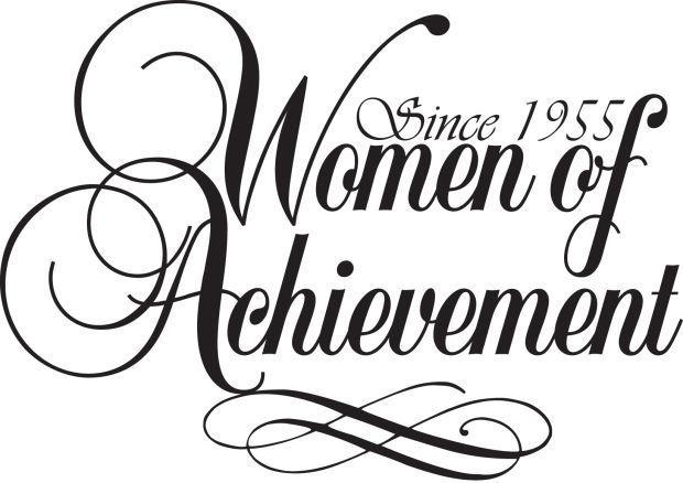 women of achievement logo WOA