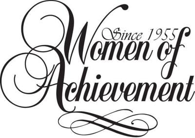 women of achievement logo WOA