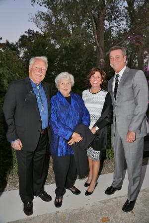 Charles and Marilyn Hoessle, Michelle and Denny Reagan