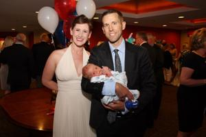 Jason and Dawn Gilbertson with Nash Gilbertson
