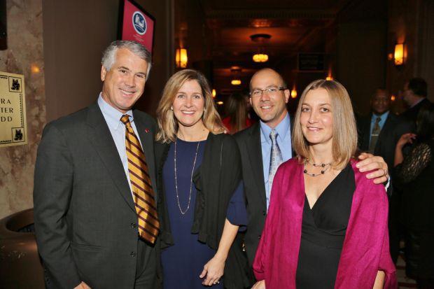 Robert and Jennifer Parish, Kevin and Nicole Clawson