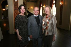 Jeanne Wilton, Rev Dr. John Kilgore, Kathy Pratt
