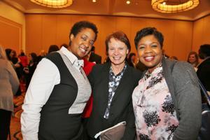 Mildred Galvin, Sharon Frey, MD, Malette Stevens