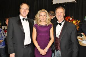 Mike and Cynthia Behr, Jim Riley