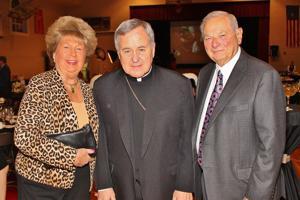 Pat Dino, Archbishop Robert Carlson, Len Dino