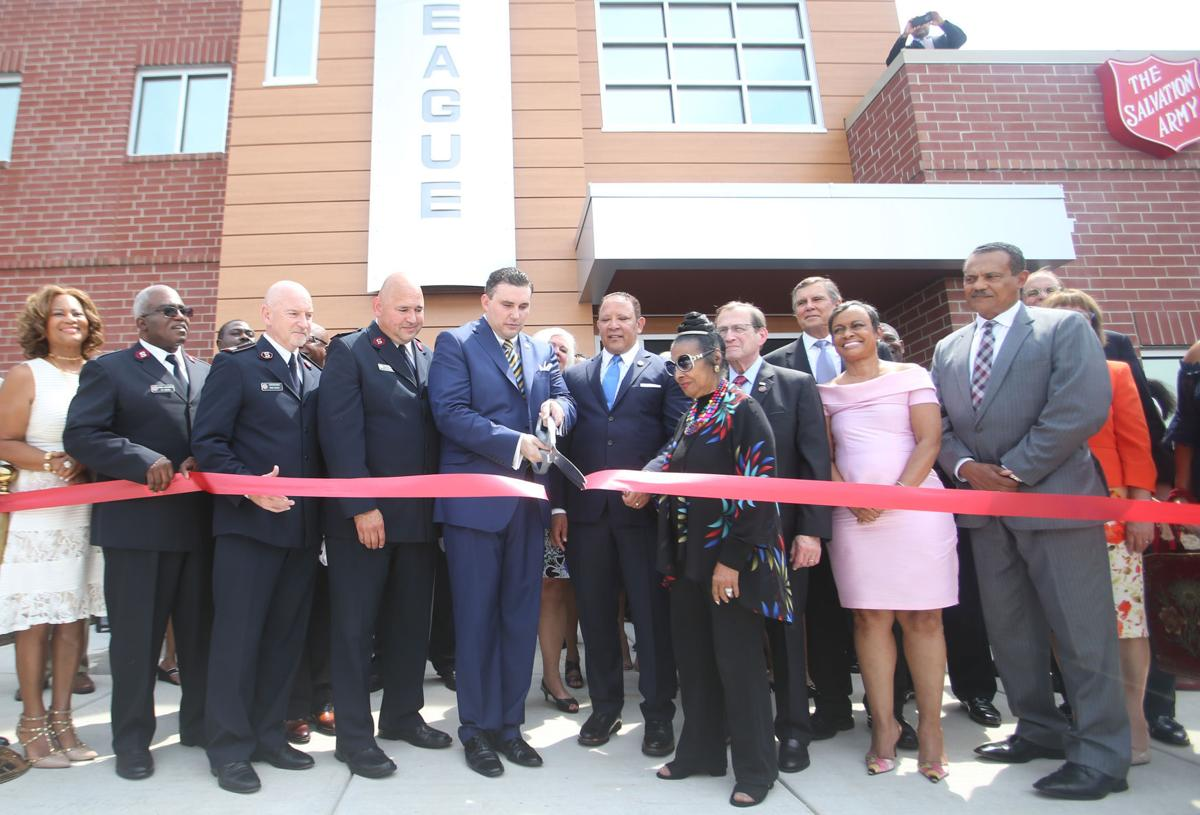 Ribbon Cutting at site of Ferguson unrest