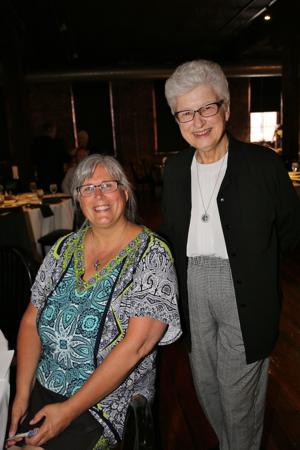 Dawn Casey, Sister Carleen Reek (former Executive Director for CJM for 17 years)