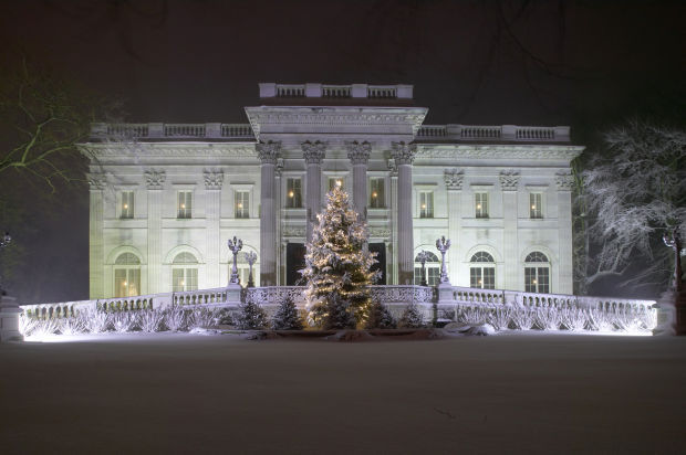 Marble House exterior-night(JC)