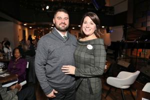 Seth and Angela Wiseman, executive director