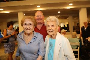 Mary Grace Cusumano, Charles and Diane Barnes