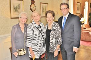 Sylvia Schulte, Beverly White, Carol Walter, Andy Thorp