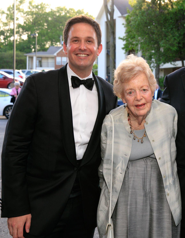 Phyllis Brissenden and OTSL General Director Andrew Jorgensen at OTSL's 2019 Spring Gala, photo by Suzy Gorman.jpg