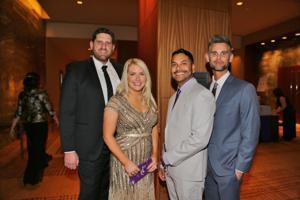 Steve and Kim Clyne, Frankie Hamlin, Kevin Hutcheson