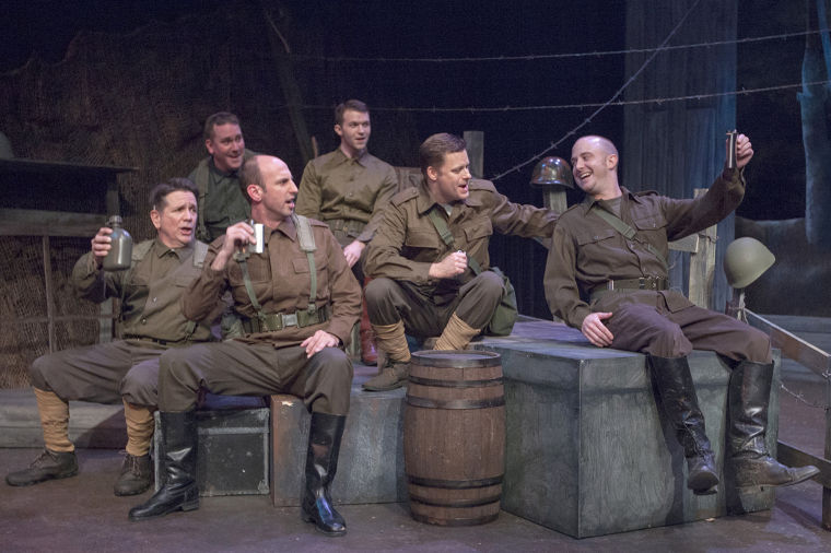 All Is Calm The Christmas Truce Of 1914 Musical Review