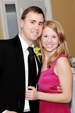 Genevieve Lamboley and Matthew Jessee