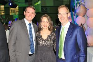 Mick and Meredith Metzger, Joe Buck