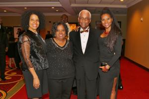Cheryl Montgomery, Laurei McCullin, Judge Donald McCullen honoree, Renee Russo