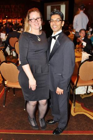 Erika and Rene Cuevas