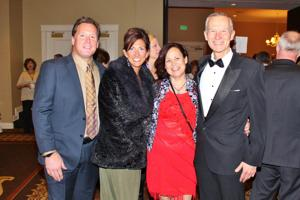 Andy and Lisa Sharpe, Cassie and Don Hamblen