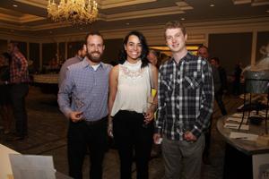 Brandon Huck, Erin Leu, Keegan O'Brien