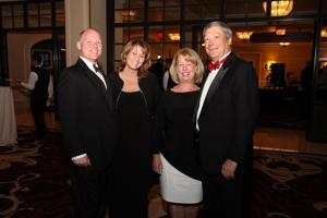 Russ and Renee Schroeder, Kathy and Dr. David Morton