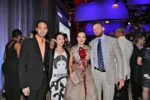 Chak Lattanand, Tiya Lin, Shereen and Michael Fischer