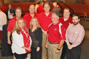 Dr. John and Patti Pieper, Todd Evers, Julita and Marty Michel, Ron Fitzwater, Garth Reynolds, Jeremy Degenhart