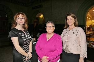 Lauren Moore, Sara Meward, Sandra Cabot