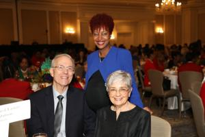 Paul Reuter, Tamiko Armstead, Janet Brown