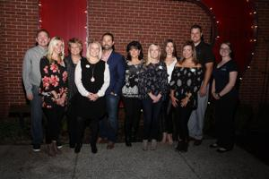 Staff and Board Members -Bill Couch, Jill Kesler, Vicky James, Lindsey and Victor Rodriguez, Maureen Conklin, Megan Schuler, Angelica Herbert, Nicki Cox, Luke Mraz, Caroline Deacon,
