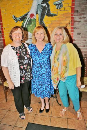 Christine Brust, Julie Peetz, Kathy Sartori (Volunteers)