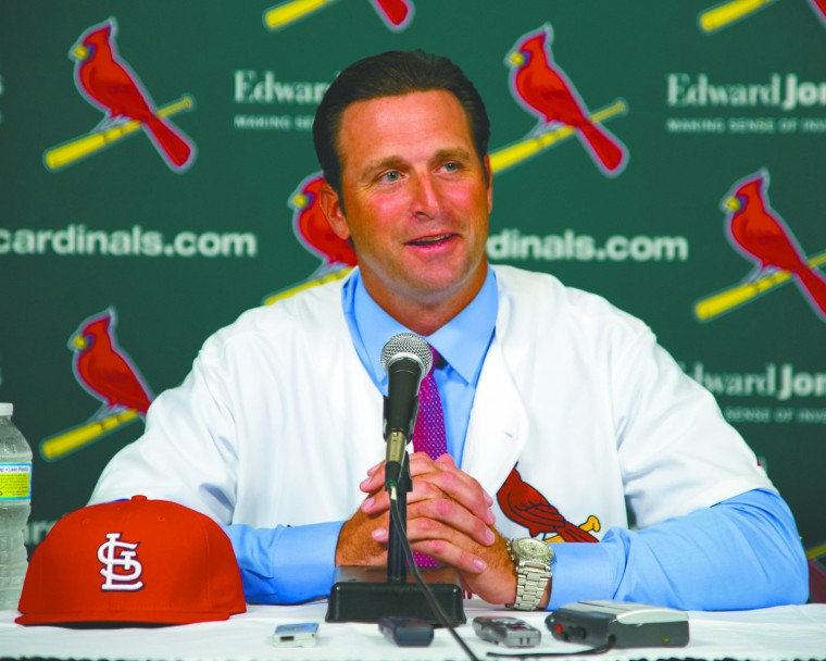 MLB: St. Louis Cardinals manager Mike Matheny
