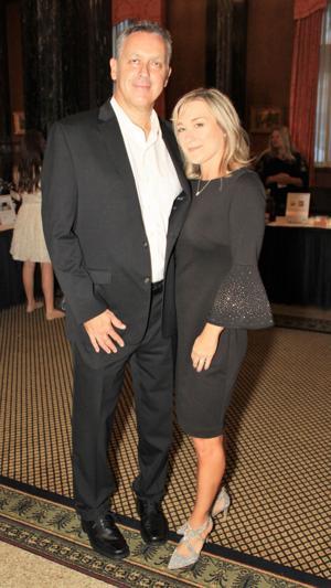 Rob and Rebecca Hall