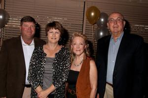 Ed and Karen Schwent, Judy and Jim Schloeman