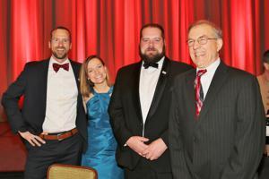 Nick Hillyard, Virginia Lacy, Josh Hillyard, John McClusky