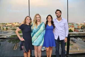 Jenny Scholle, Lily O'Neill, Danielle Smith, Scott Thomas