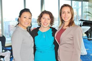 Joanne Carden, Cintia Ribeiro, Carly Scaduto