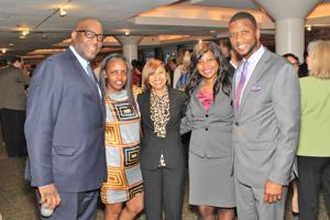 Dr. James Paive, Jackie Hamilton, Sherita Haiger, Desiree Coleman, Michael Whitley