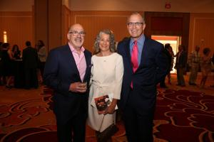Larry Zarin, Carol and Michael Staenberg