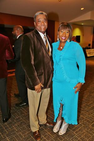 Dr. Kirk and Leslie Washington