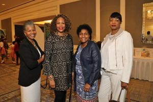 Jackie Williams, Teresa Bluiett, Monica Penny, Delores Clark