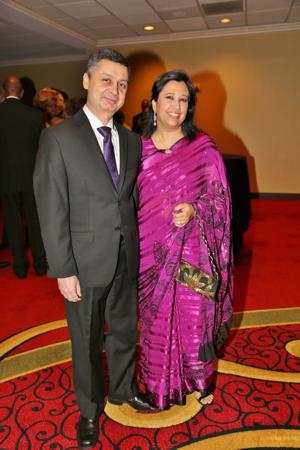 Shailesh and Neelu Panth