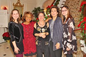 London Reynolds, Alice Mitchell, Debbie Naucke, Mary Beth Softer, Lauryn Burch