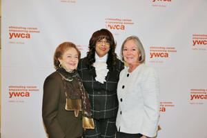 Marilyn Fox, honoree Thelma Steward, Carol Voss