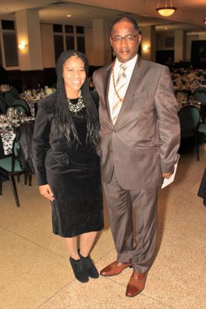Rhonda and Marcus Adams