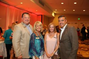 Carl and Debbie Bearden, Molly and Tom Dempsey