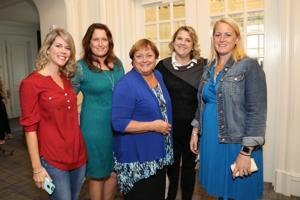 Laura Partridge, Maureen Montgomery, Eileen Hedrick, Christy Trojahn, Nicole Seavey